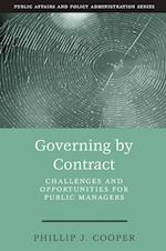 Governing by Contract (Kettl Series)
