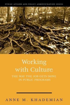 Working with Culture: How the Job Gets Done in Public Programs
