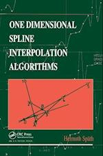 One Dimensional Spline Interpolation Algorithms