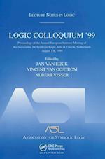 Logic Colloquium '99 (Lecture Notes in Logic S)