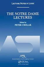 The Notre Dame Lectures (Lecture Notes in Logic)