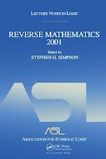 Reverse Mathematics (Lecture Notes in Logic)