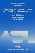 Nonstandard Methods and Applications in Mathematics (Lecture Notes in Logic)