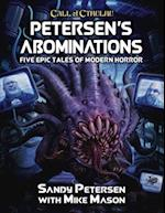 Petersen's Abominations (Call of Cthulhu Roleplaying, nr. 2315)