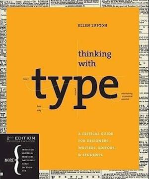Bog paperback Thinking with Type af Ellen Lupton