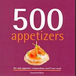 500 Appetizers (500 Cooking Sellers)