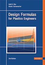 Design Formulas for Plastics Engineers af Gunter Schumacher, Natti S. Rao
