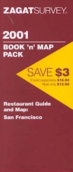 San Francisco Map/book (Zagat Guides)