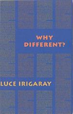 Why Different? - A Culture of Two Subjects (Semiotext (E) Foreign Agents)