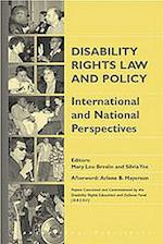 Disability Rights Law and Policy