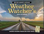 The Old Farmer's Almanac Weather Watcher's 2018 Calendar