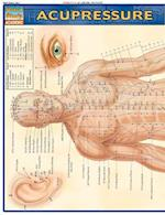 Acupressure Laminate Reference Chart (Quick Study Academic)