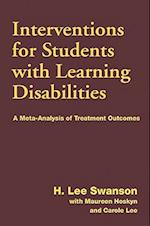 Interventions for Students with Learning Disabilities af H. Lee Swanson