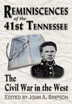 Reminiscences of the 41st Tennessee af Sumner Archibald Cunningham