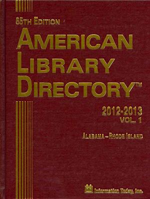 American Library Directory 2012-2013