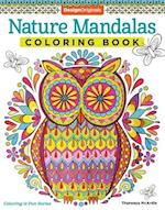 Nature Mandalas Coloring Book (Coloring Is Fun)