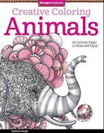 Creative Coloring Animals (Design Originals, nr. 5506)