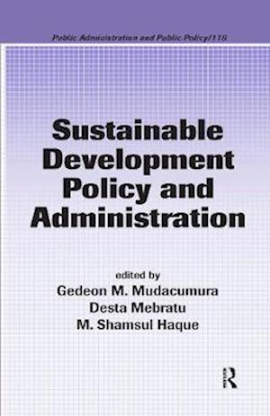 Sustainable Development Policy and Administration