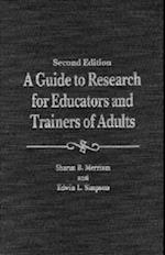 A Guide to Research for Educators & Trainers of Adults