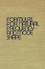 Formulas for Natural Frequency and Mode Shape