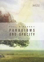 Paradigms and Opacity (Stanford Monographs in Linguistics)