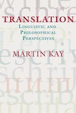 Translation (CSLI Studies In Computational Linguistics)