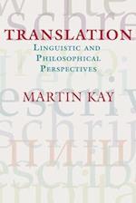 Translation (CSLI Studies In Computational Linguistics)