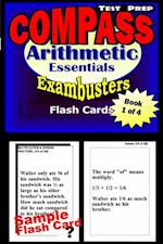 COMPASS Test Prep Arithmetic Review--Exambusters Flash Cards--Workbook 1 of 4