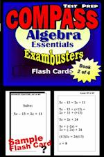 COMPASS Test Prep Algebra Review--Exambusters Flash Cards--Workbook 2 of 4