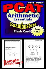 PCAT Test Prep Arithmetic Review--Exambusters Flash Cards--Workbook 1 of 4