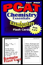 PCAT Test Prep Chemistry Review--Exambusters Flash Cards--Workbook 4 of 4