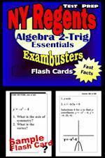 NY Regents Algebra 2-Trigonometry Test Prep Review--Exambusters Flashcards