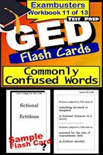 GED Test Prep Commonly Confused Words Review--Exambusters Flash Cards--Workbook 11 of 13