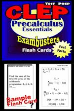 CLEP Precalculus Test Prep Review--Exambusters Flash Cards