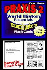 PRAXIS II History/Social Studies Test Prep Review--Exambusters World History Flash Cards