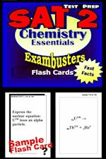 SAT 2 Chemistry Test Prep Review--Exambusters Flash Cards