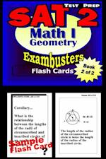 SAT 2 Math Level I Test Prep Review--Exambusters Geometry Flash Cards--Workbook 2 of 2