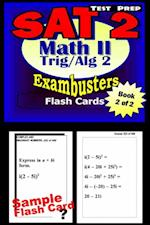 SAT 2 Math Level II Test Prep Review--Exambusters Algebra 2-Trig Flash Cards--Workbook 2 of 2