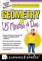 Geometry in 15 Minutes a Day af LearningExpress