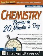 Chemistry Review in 20 Minutes a Day af LearningExpress