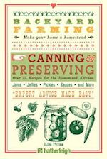 Canning & Preserving (Backyard Farming)