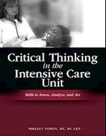 Critical Thinking in the Intensive Care Unit