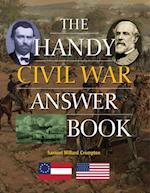 Handy Civil War Answer Book