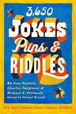 3650 Jokes, Puns, & Riddles af Charles Foxgrover, Anne Kostick, Michael J. Pellowski