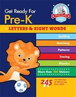 Get Ready for Pre-K: Letters & Sight Words (Get Ready for Pre k)