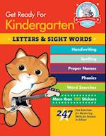 Get Ready for Kindergarten: Letters & Sight Words (Get Ready for Kindergarten)