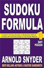 Sudoku Formula 1 af Arnold Snyder