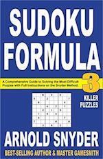Sudoku Formula 3 af Arnold Snyder