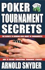 Poker Tournament Secrets