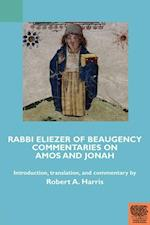 Rabbi Eliezer of Beaugency, Commentaries on Amos and Jonah (With Selections from Isaiah and Ezekiel) (Teams Commentary Series)